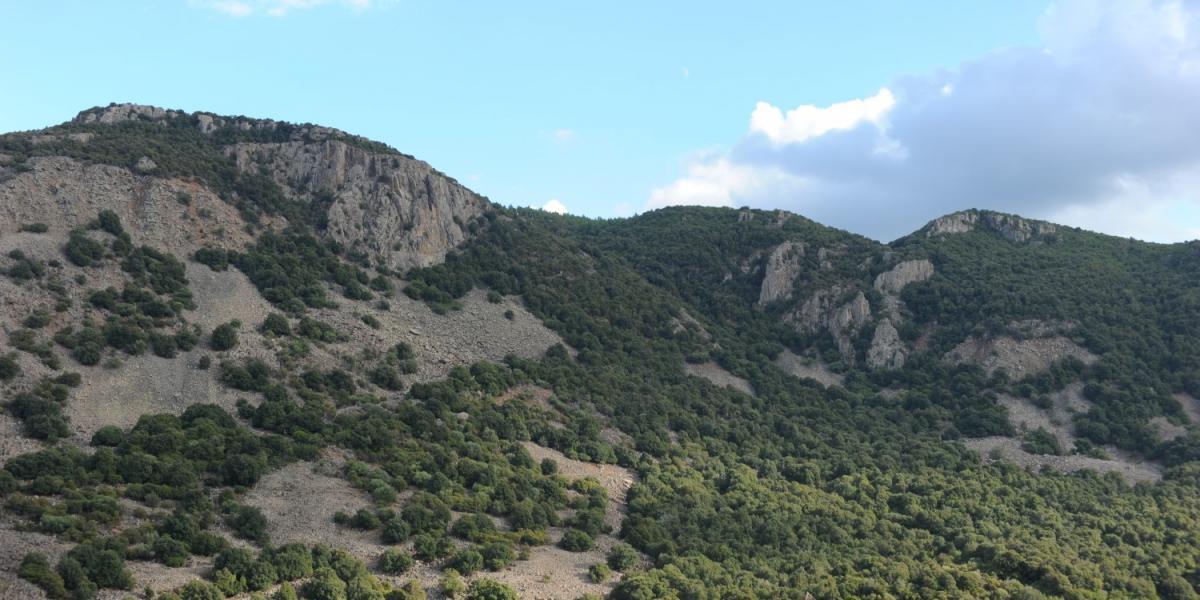 Panorama Bruncu Santoru